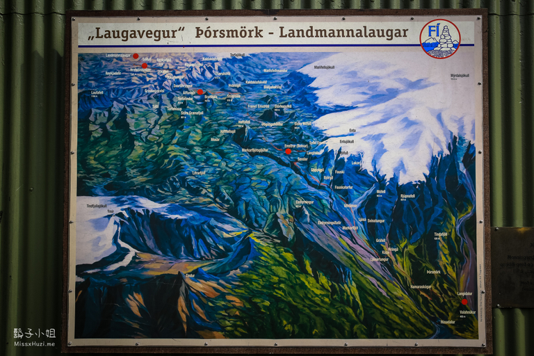 Read more about the article [ Iceland・冰島 ] 熱門健行路線 Laugavegur Trail Campsite 營地資訊